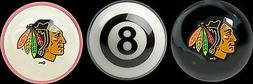 chicago blackhawks team pool billiard table balls