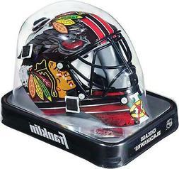 Chicago Blackhawks Unsigned Franklin Sports Replica Mini Goa