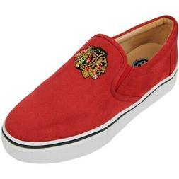 Chicago Blackhawks Cuce Women's Suede Slip On Shoe - Red