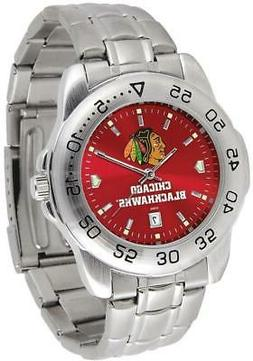 Gametime Chicago Blackhawks Sport Steel Watch