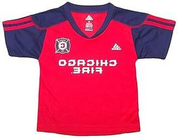 Infant Toddler Youth Chicago Fire Home Call Up Jersey T-Shir