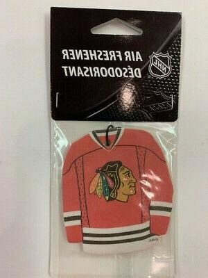 chicago blackhawks air freshener