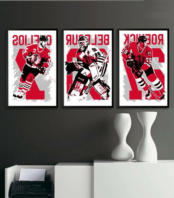 chicago blackhawks art print poster fan pack