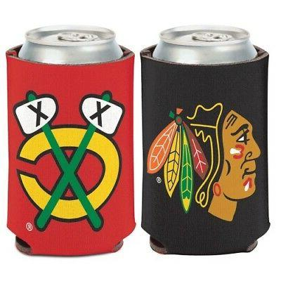 chicago blackhawks can cooler 1 logo