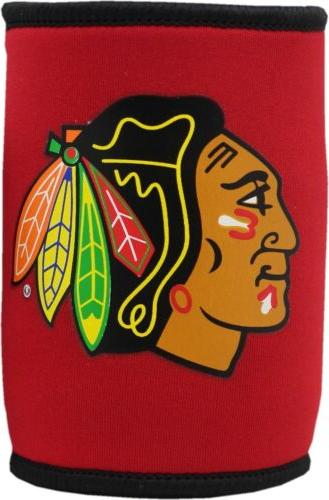 chicago blackhawks can koozie 2