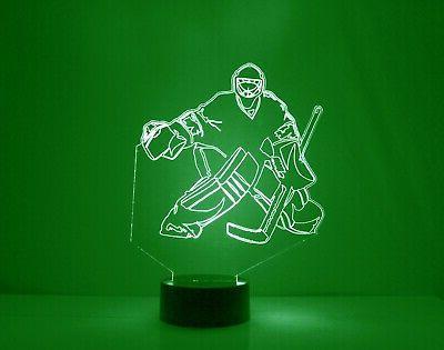Chicago Blackhawks Personalized FREE Hockey Sports Lamp