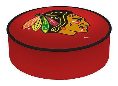 chicago blackhawks hbs red vinyl elastic slip