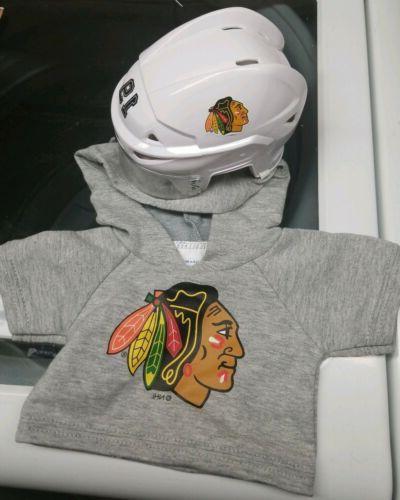 chicago blackhawks hoodie and helmet official nhl