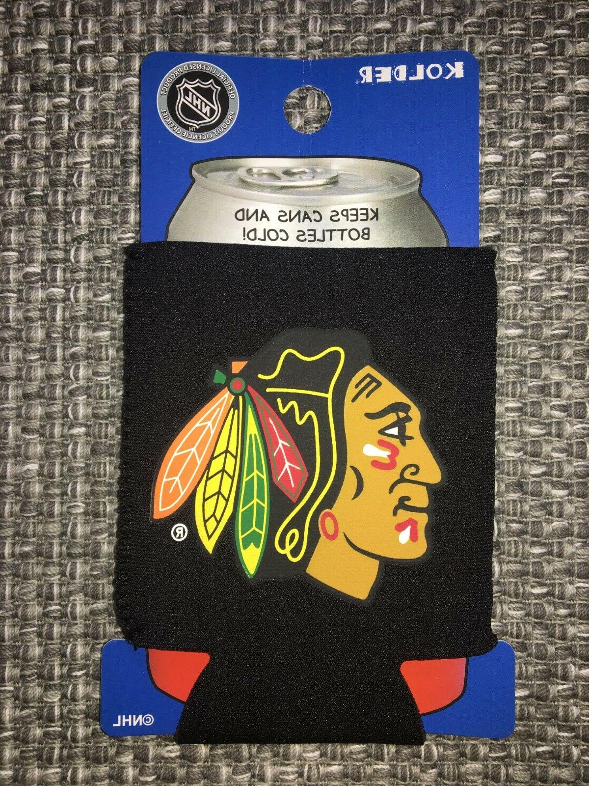 chicago blackhawks nhl can cooler collapsible insulated