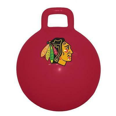 chicago blackhawks nhl child space hopper ball