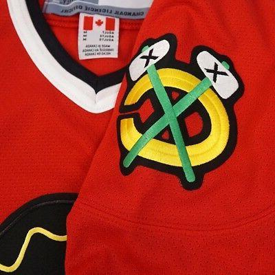 Chicago Blackhawks CCM Men's Red Premier Home Jersey