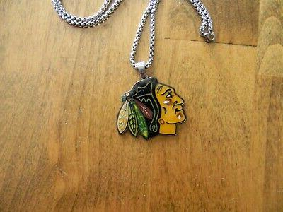 CHICAGO PENDANT FOB CHAIN NECKLACE NOS