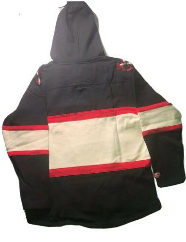 Chicago Blackhawks Time Jersey Laced Sweatshirt L