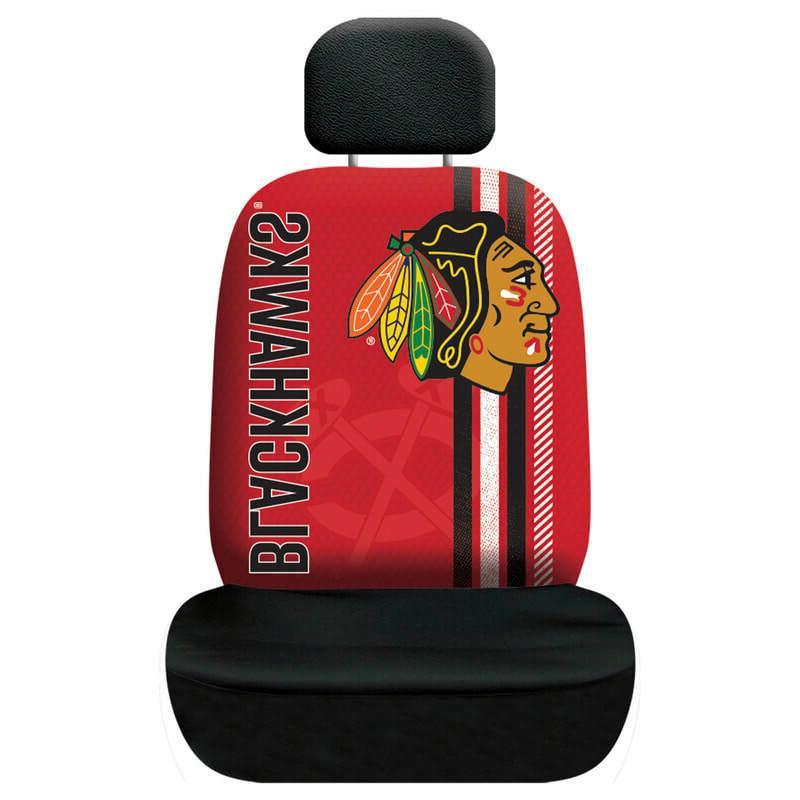 chicago blackhawks rally design seat cover