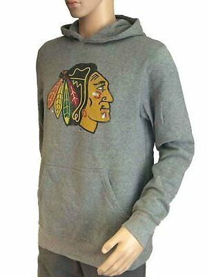 Chicago Retro Brand Light Gray Hoodie Sweatshirt