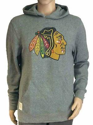chicago blackhawks retro brand light gray big