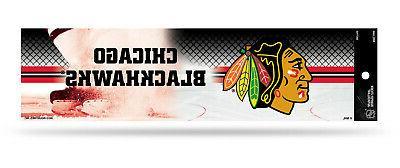 Chicago Blackhawks - Net Logo Bumper Sticker