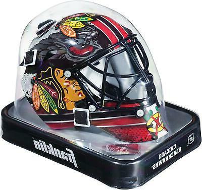 chicago blackhawks unsigned franklin sports replica mini