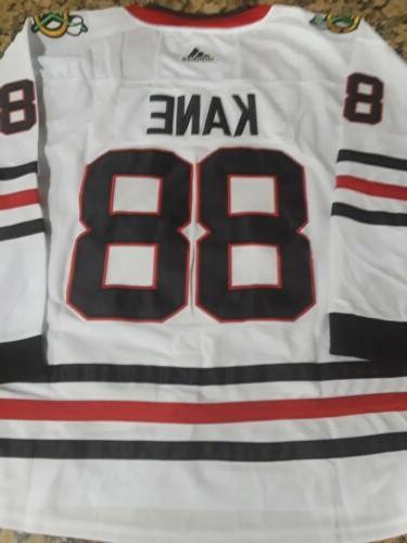 new chicago blackhawks 88 patrick kane white