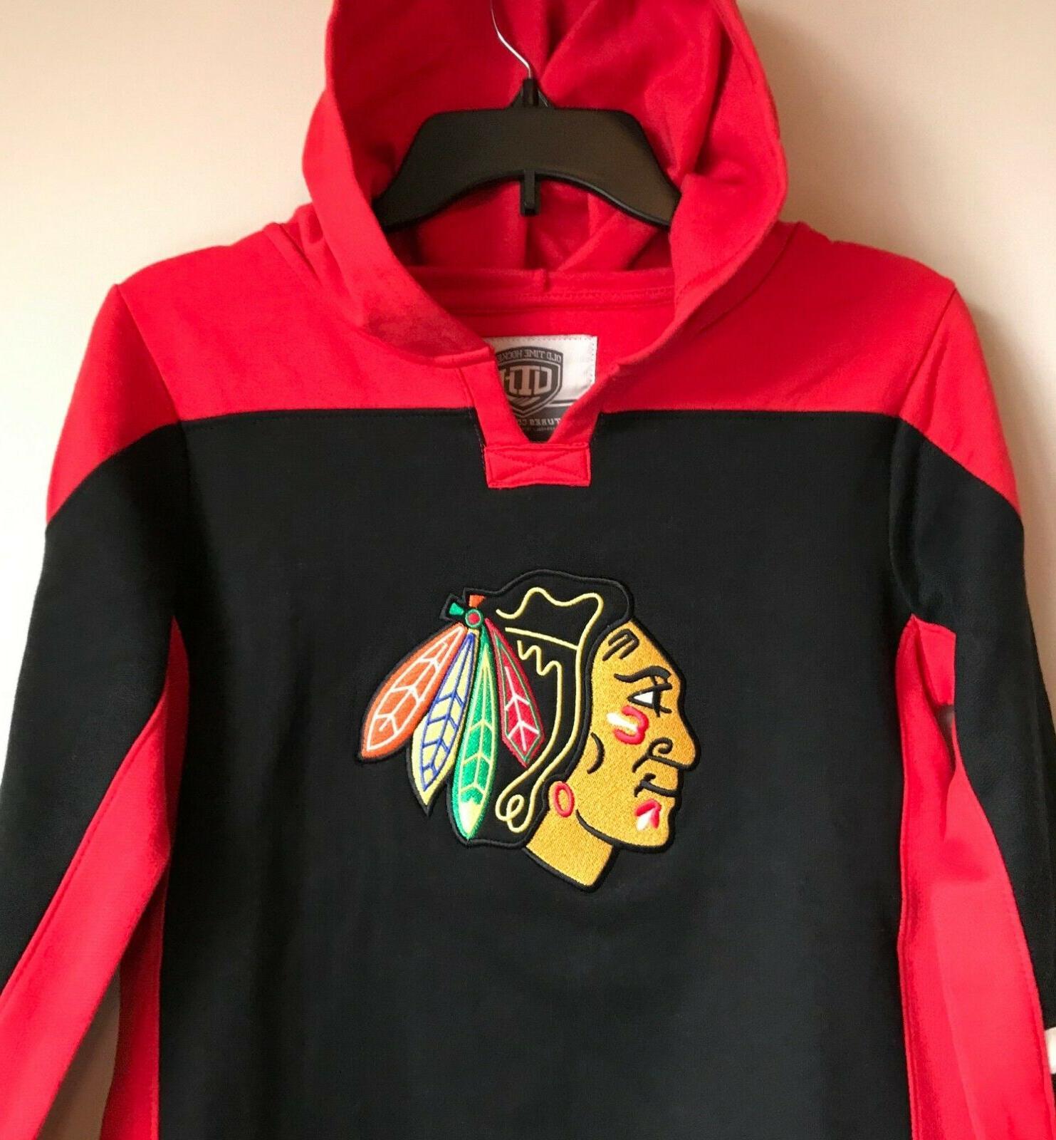 New Chicago Hoodie Hooded Sweatshirt Boys