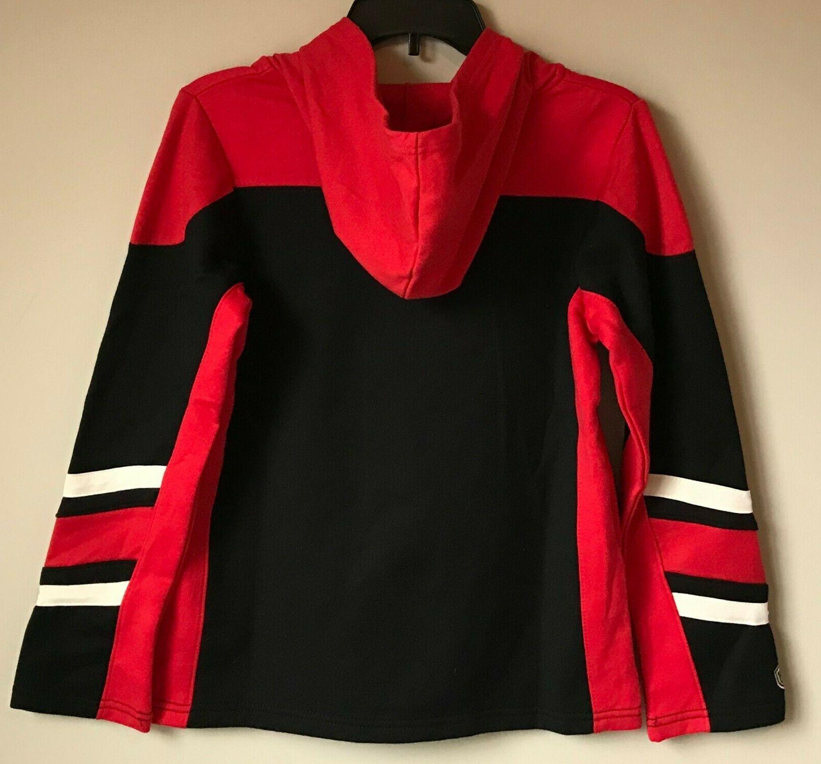 New Chicago Hoodie Premium Hockey Hooded Sweatshirt Boys