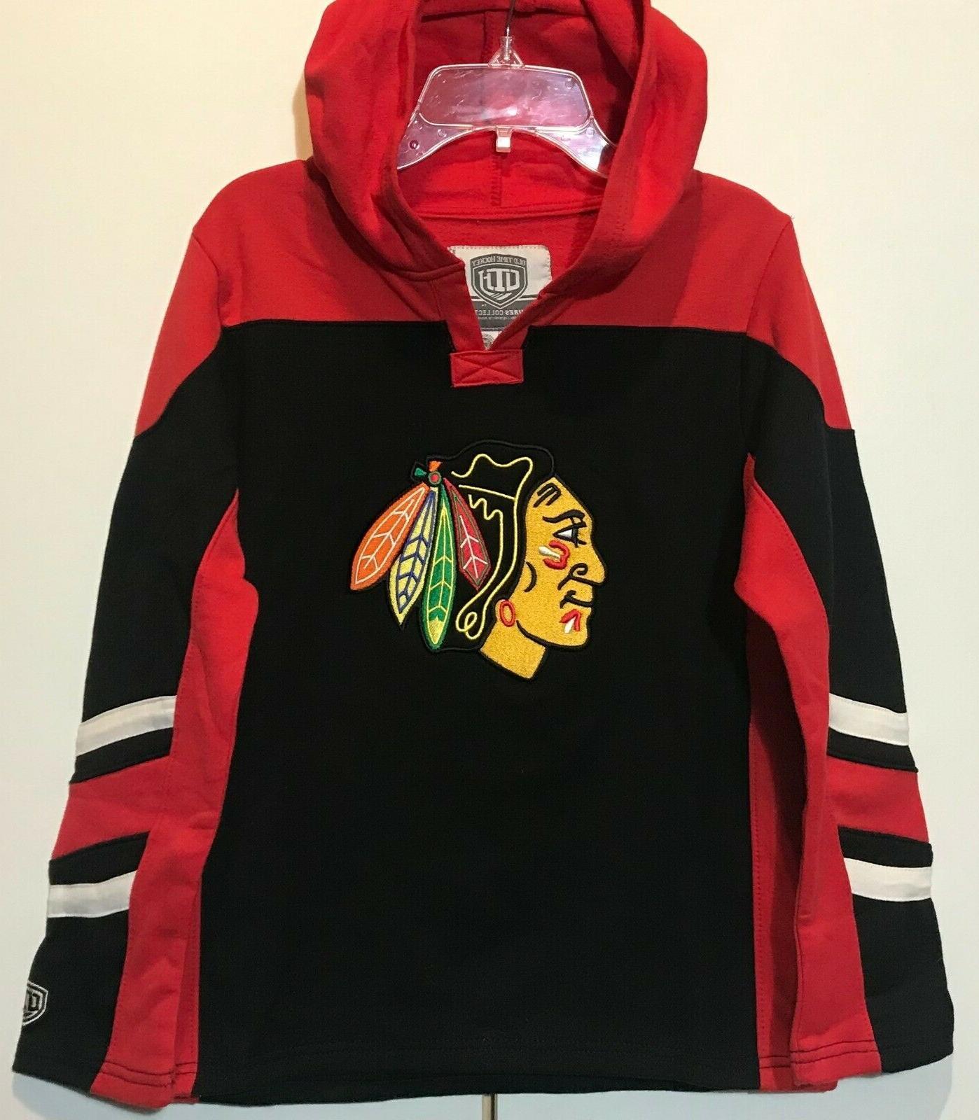 new chicago blackhawks boys hoodie premium quality