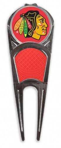 NHL Chicago Blackhawks Golf Divot Tool/Ball Marker, NEW