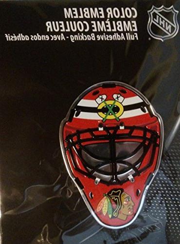 nhl chicago blackhawks mask emblem