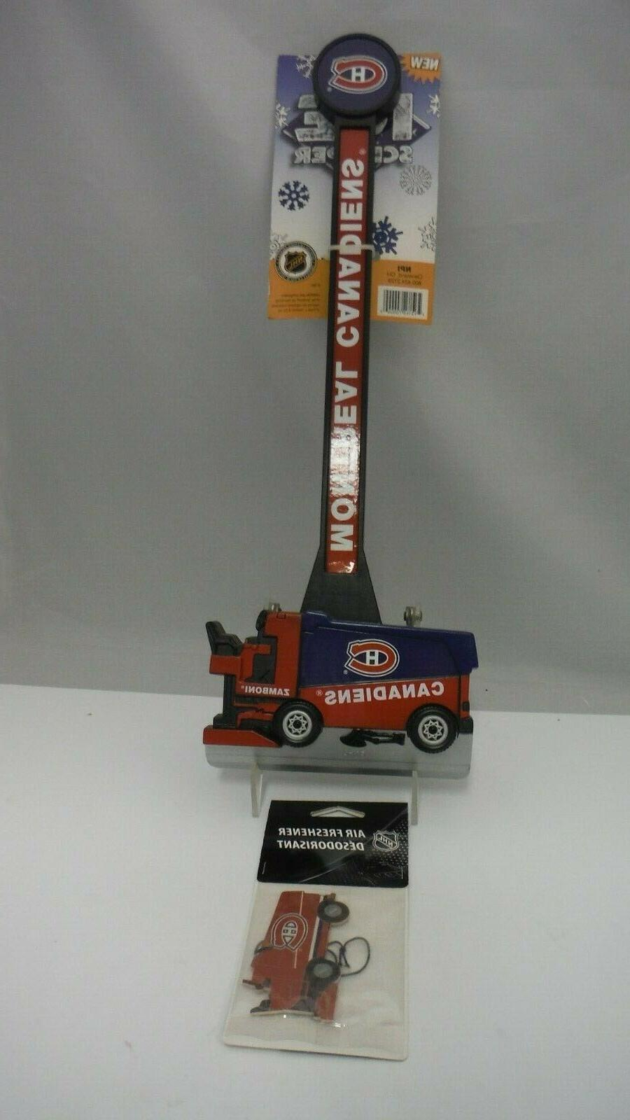 nhl licensed product montreal canadians zamboni ice