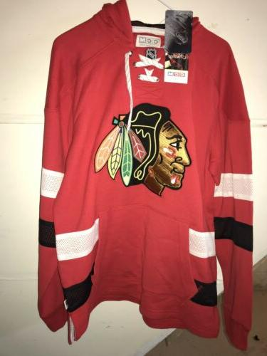 nwt ccm chicago blackhawks beautiful hoodie sweatshirt