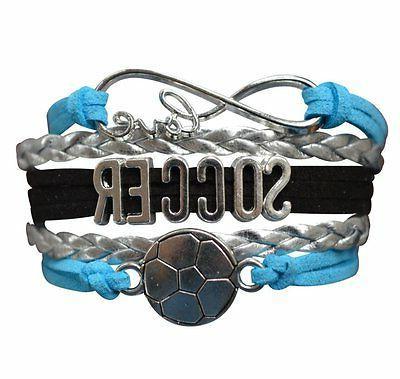 Girls Soccer Bracelet, Soccer Jewelry, Soccer Gift for Socce