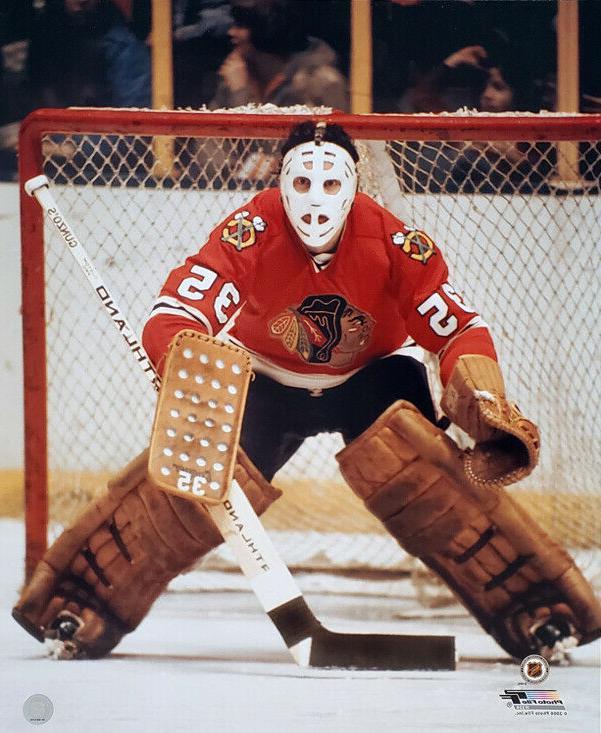 tony esposito chicago blackhawks nhl hockey c