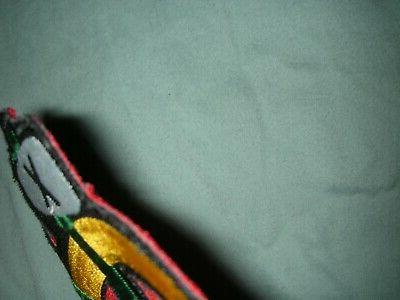 """TWO CHICAGO BLACKHAWKS SHOULDER MUST BE SEWN, 5""""X5"""""""