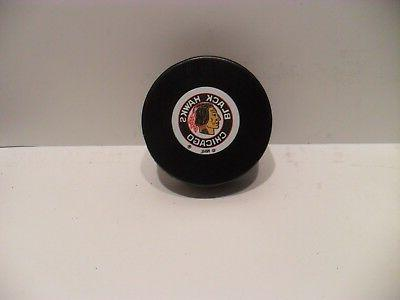 vintage chicago blackhawks hockey puck brand new