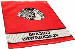 Large - Officially Licensed Chicago Blackhawks Woven Fabric