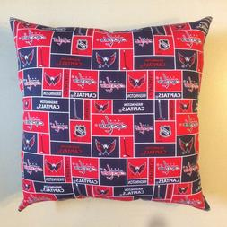 NEW 15 x 15 NHL HOCKEY COMPLETE THROW PILLOWS - GREAT GIFTS!