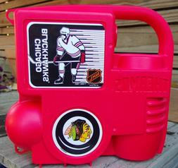 New Vintage 1993 Chicago Blackhawks Thermos Lunchbox Complet