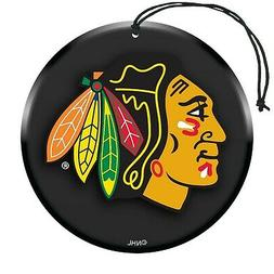nhl air freshener 3 pack chicago blackhawks