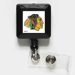 NHL Chicago Blackhawks 13109021 Retractable Badge Holder