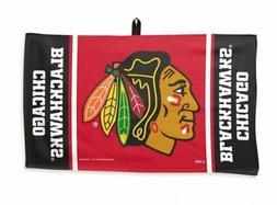 NHL Chicago Blackhawks 14 x 24 inch Golf Waffle Towel
