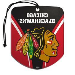 Team ProMark NHL Chicago Blackhawks 2-Pack Air Freshener 2-4