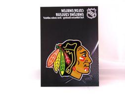 NHL Chicago Blackhawks Color Auto Emblem, One Size, One Colo