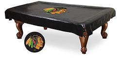nhl chicago blackhawks billiard table