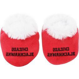 nhl chicago blackhawks bootie slippers