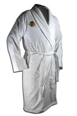 nhl chicago blackhawks cotton robe