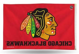 NHL Chicago Blackhawks 3 X 5 Flag
