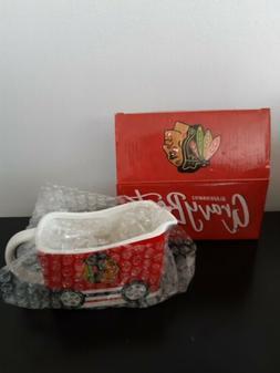 NHL Chicago Blackhawks Gravy Boat Bowl Stadium Giveaway Sour