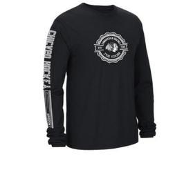 NHL Chicago Blackhawks Icon Long Sleeve Hockey Shirt New Men