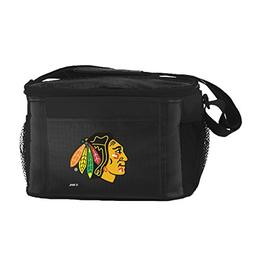 NHL Chicago Blackhawks Insulated Lunch Cooler Bag with Zippe