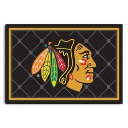 NHL Chicago Blackhawks Mat, 5' x 7'8